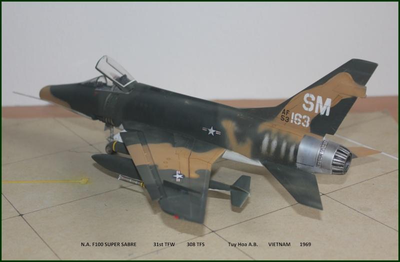 F 100 SUPER SABRE 1/48 Monogram - Page 3 F210