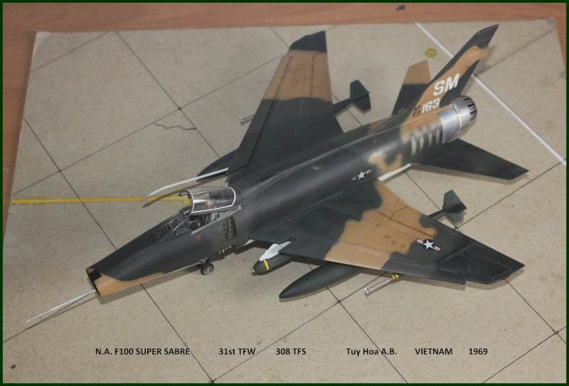 F 100 SUPER SABRE 1/48 Monogram - Page 3 F310