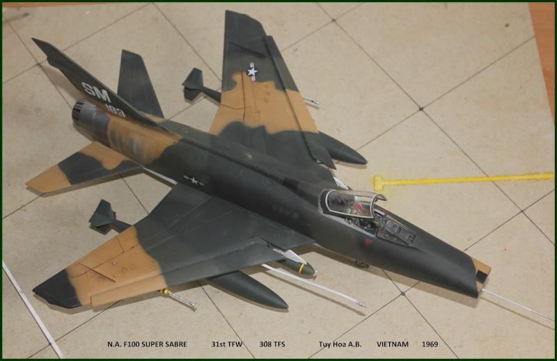 F 100 SUPER SABRE 1/48 Monogram - Page 3 F410