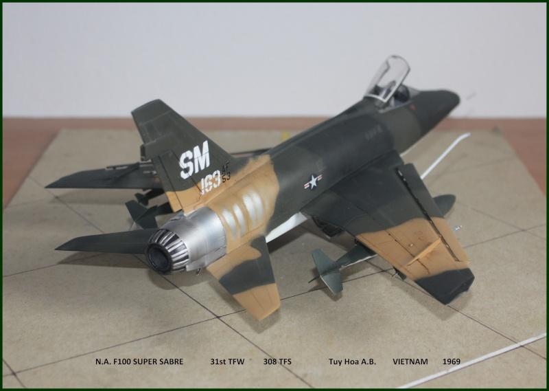 F 100 SUPER SABRE 1/48 Monogram - Page 3 F510