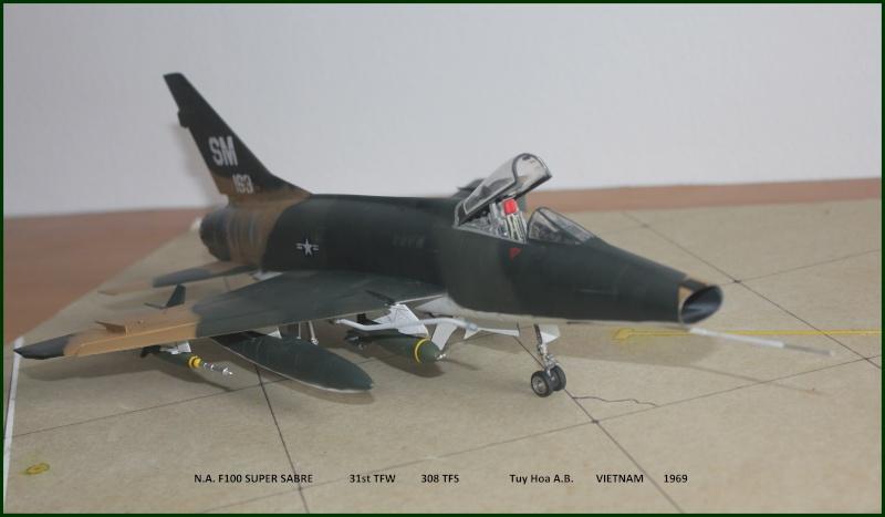 F 100 SUPER SABRE 1/48 Monogram - Page 3 F610