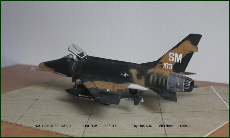 F 100 SUPER SABRE 1/48 Monogram - Page 3 F710