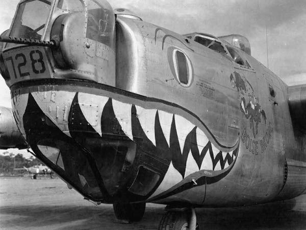 Nose art B-24_b10