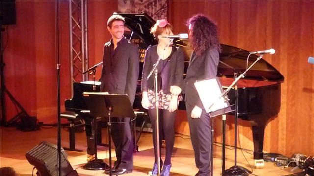 Nemanja Radulovic au Petit Palais avec Zaza Fournier le 07 Janvier 2010 Nr_0610