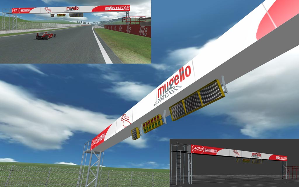 track - new track for netKar PRO build from scratch: Mugello Ponte11