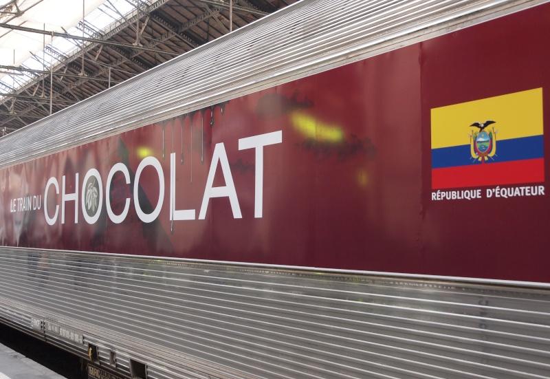 Le train du chocolat (Paris Gare de Lyon)  2210