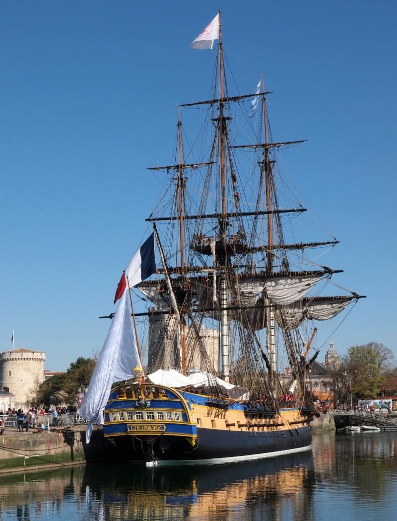 De Passage à la Rochelle le 14-04-2015 avant le départ de L'Hermione 311