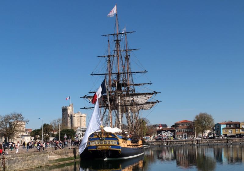 De Passage à la Rochelle le 14-04-2015 avant le départ de L'Hermione 611