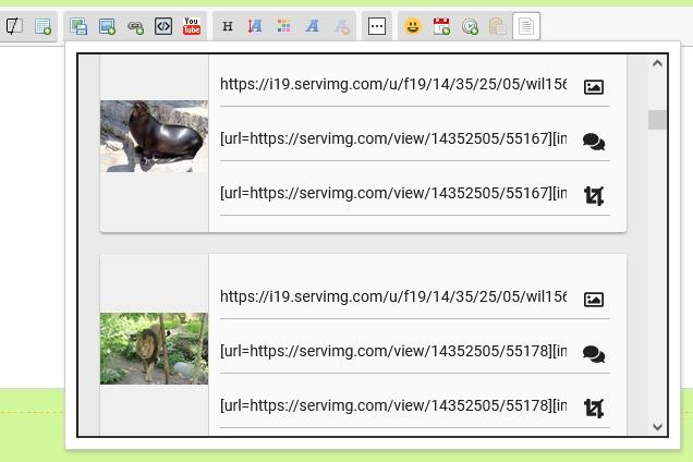 Probleme beim Fotos hochladen X410