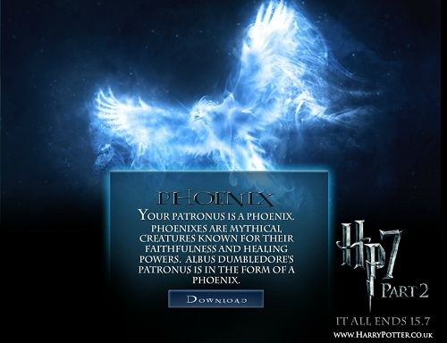 Maison et Patronus - Test Harry Potter. Patron10
