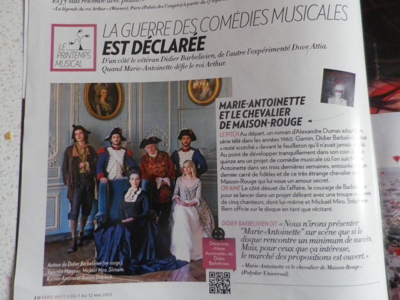 """""""Marie-Antoinette et le Chevalier de Maison-Rouge"""": une comédie musicale de Didier Barbelivien  - Page 4 Imgp2411"""