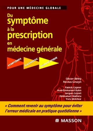 [livre]:Du symptôme à la prescription en médecine générale pdf gratuit - Page 4 Cover112
