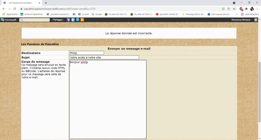 Problème pour envoi de mail aux membres via leur profil Captur32