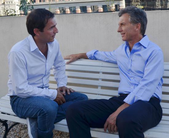 """Macri: """"No podemos confiarle nuestro futuro a los que gobernaron Campana los últimos 20 años"""". 00110"""