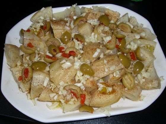 Salade Artichaut et Olives Artich11