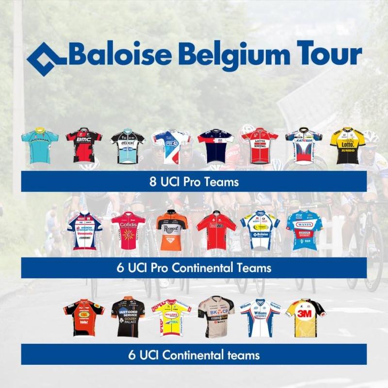 TOUR DE BELGIQUE - BALOISE BELGIUM TOUR  --B-- 27 au 31.05.2015 Belgi10