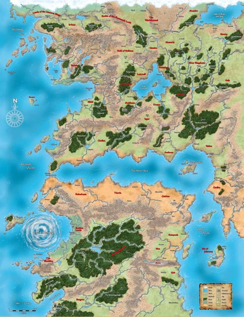 Golarion Map Golari10