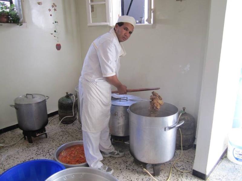 Abdelkader Hadjadj, cuisinier professionnel , Aokas 155