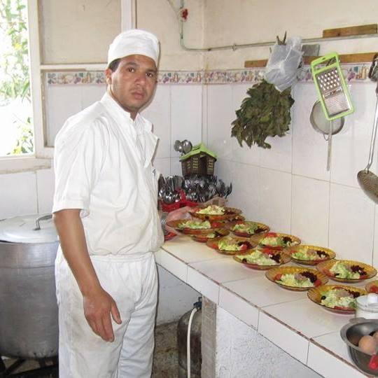 Abdelkader Hadjadj, cuisinier professionnel , Aokas 316
