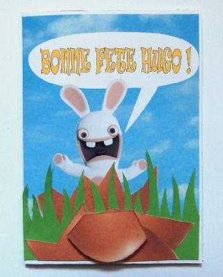 Cartes Pâques Hugo210