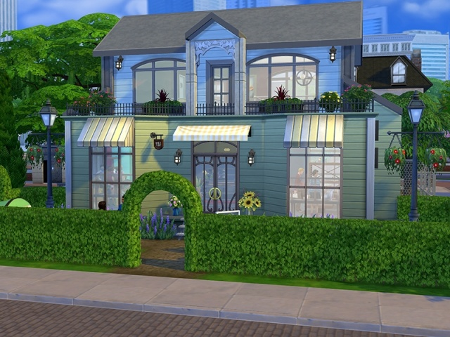 [Inspiration] [Sims 4] Boutiques Sims4g18