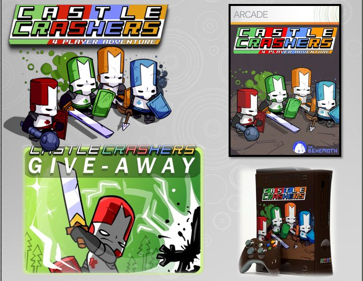 XBOX 360 : Edition CASTLE CRASHERS Castle11