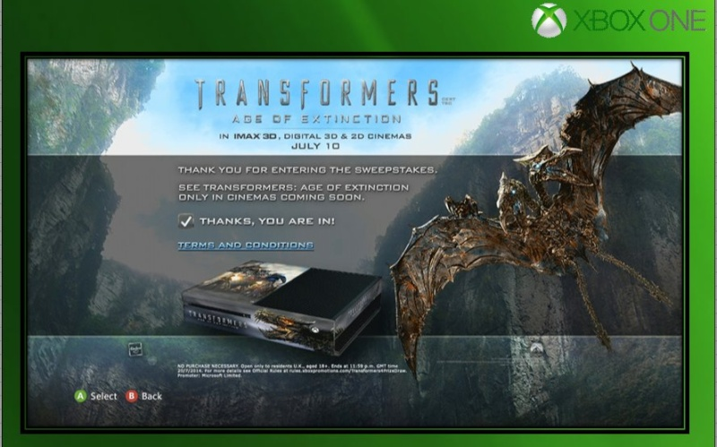 XBOX ONE : Edition TRANSFORMERS AGE OF EXTINCTION Transf11