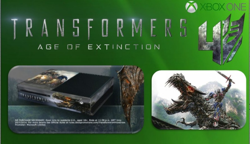 XBOX ONE : Edition TRANSFORMERS AGE OF EXTINCTION Transf12