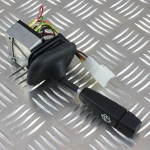 Defender 300Tdi: Principe de fonctionnement de l'intermittence et du retour à zéro des essuie-glaces Amr61010