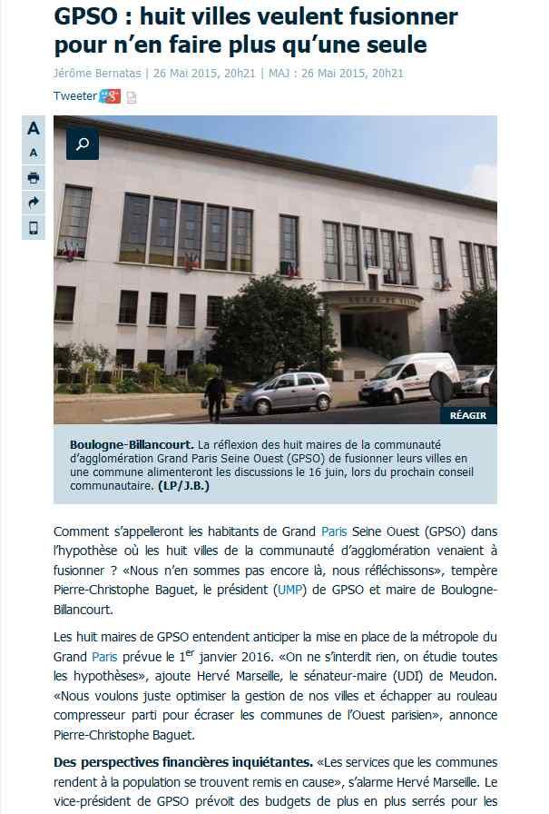 Informations de GPSO Clipb102