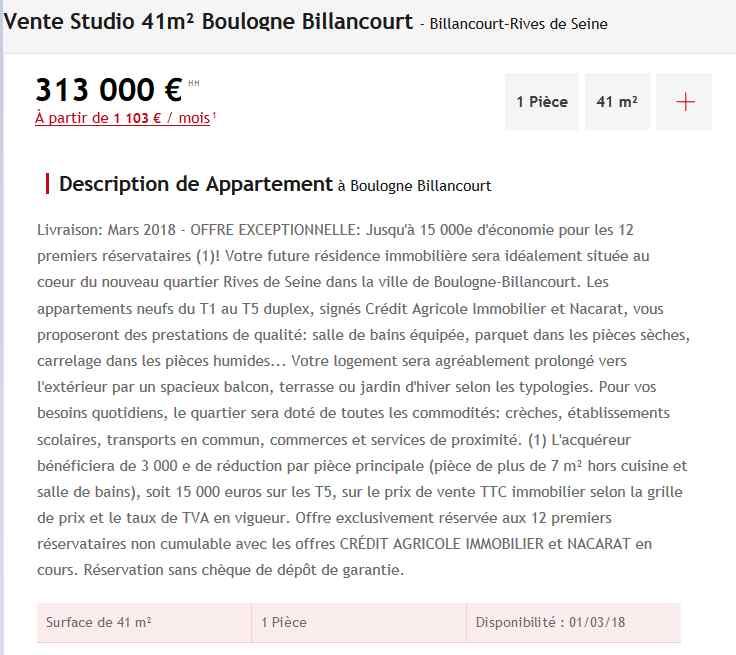 Informations sur Riv'Elégance Clipbo66