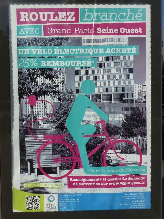 Subvention à l'achat de vélos à assistance électrique P1360129