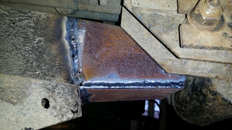Support de bulkhead - plancher conducteur 20150427
