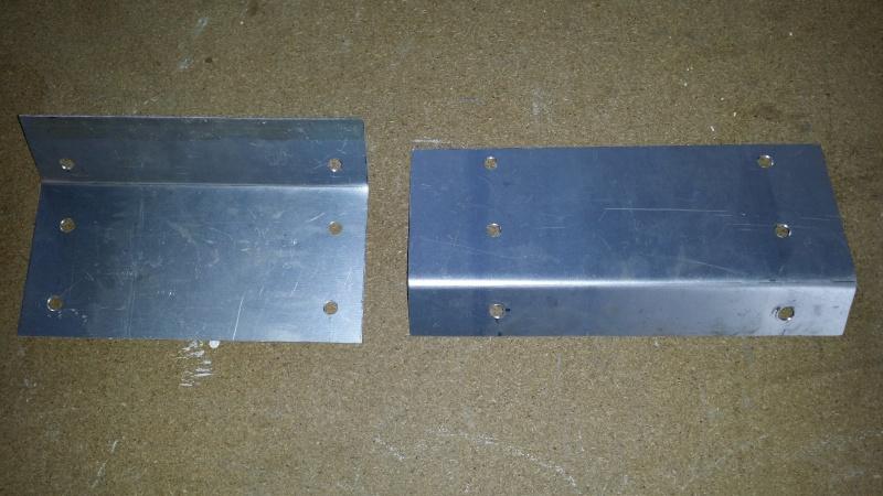 Support de bulkhead - plancher conducteur 20150432