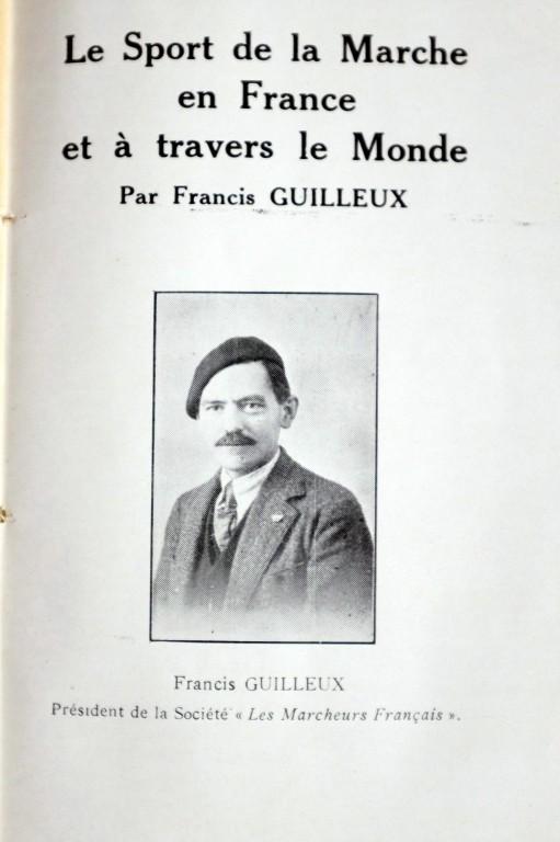 Le sport de la marche en France 1929 de FRANCIS GUILLEUX Dscf4011