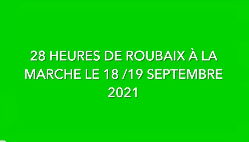 28 heures de Roubaix 18/19 Septembre 2021 Logo10