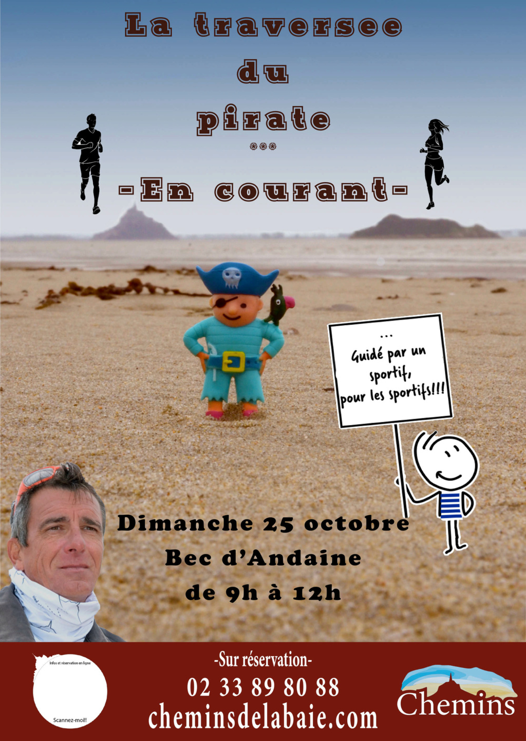 La traversée du pirate en courant Traver10