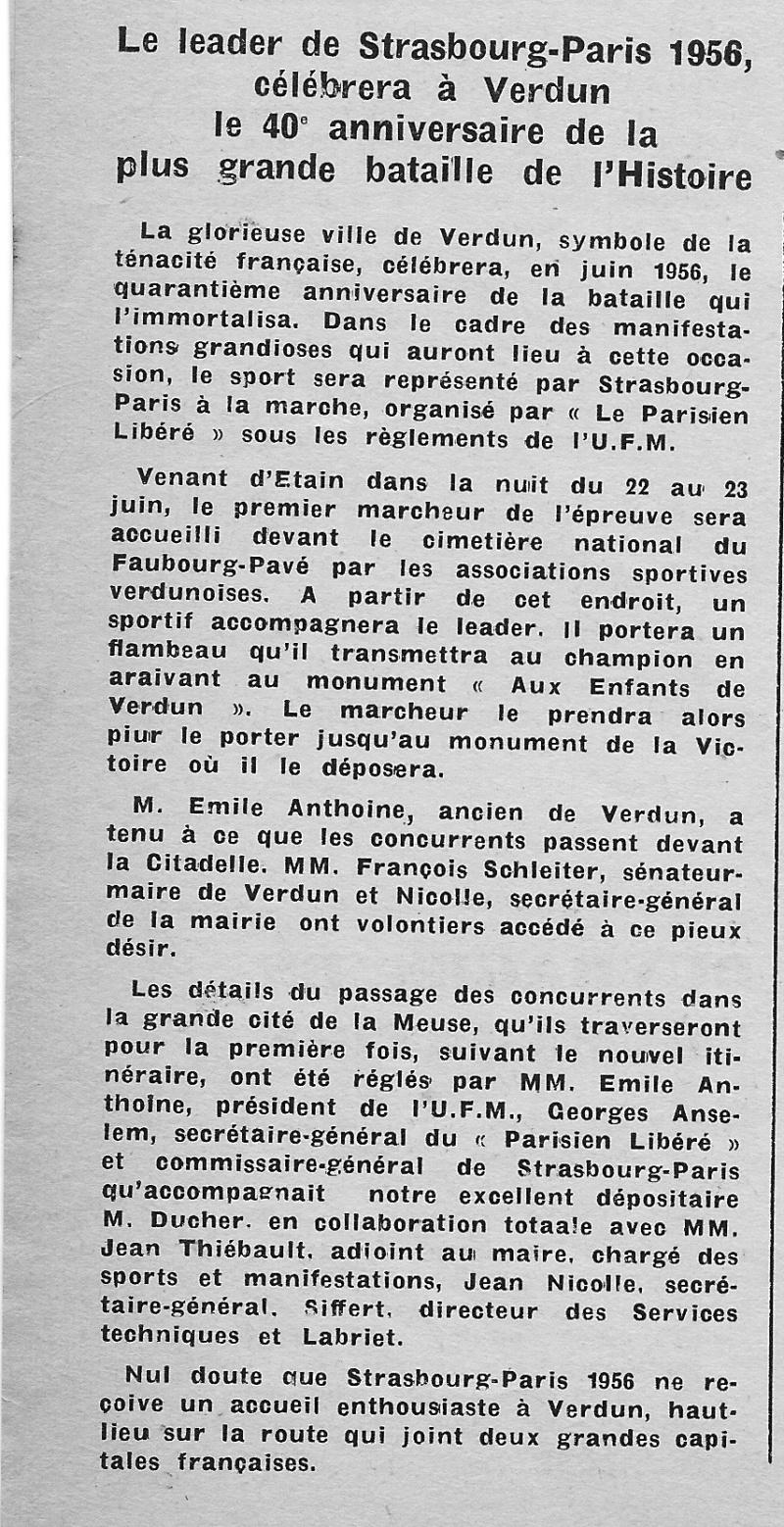 Emile ANTHOINE créateur de l'épreuve  Verdun10