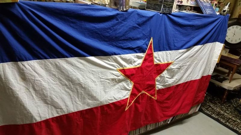 Yugoslavia National Flag 11181910