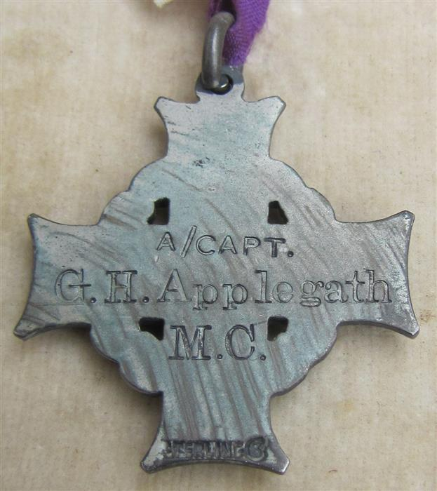 My Newest acquisition, a WWI Military Cross Group arrived. Photos added 010_me10