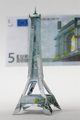 Paper Money Origami Euro_e10