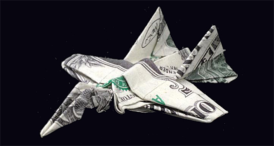 Paper Money Origami One_do17