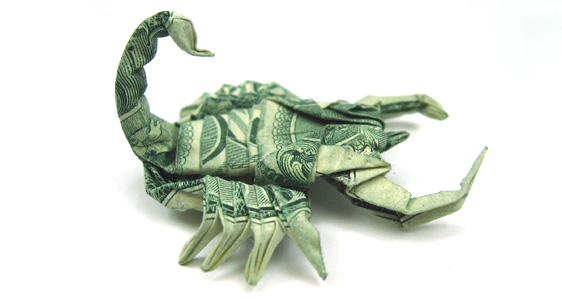 Paper Money Origami One_do21