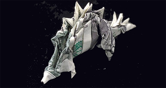 Paper Money Origami One_do24