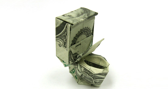 Paper Money Origami One_do25