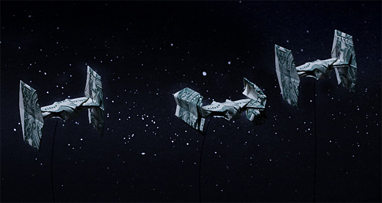 Paper Money Origami Vadera10