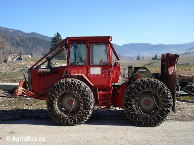 mb-trac chasse neige Massey10