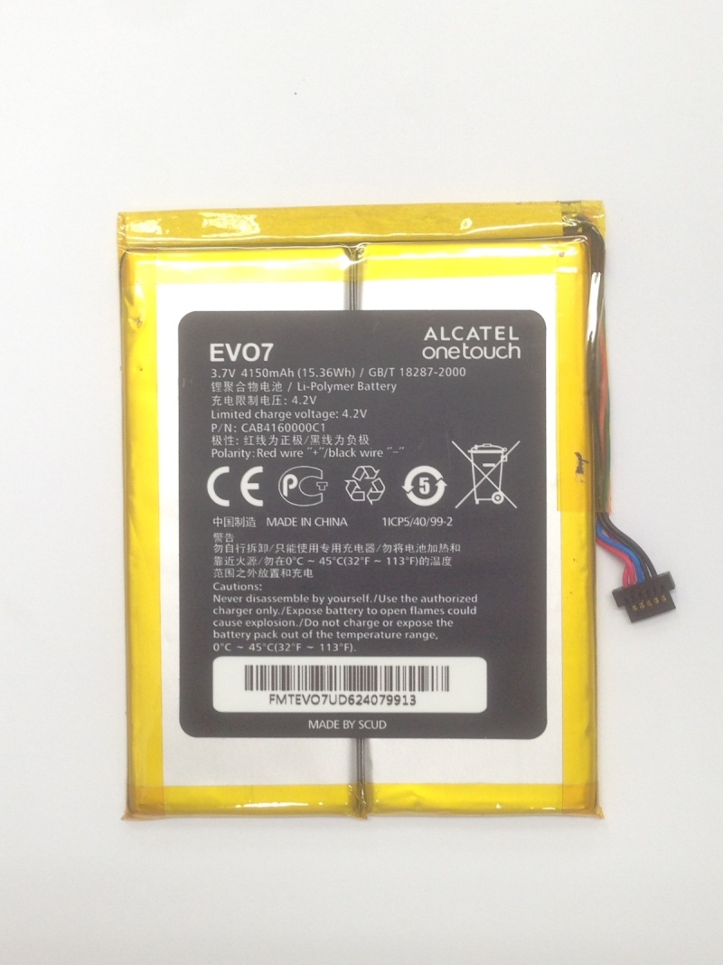 Alcatel One Touch EVO 7 Battery CAB4160000C1  Evo710