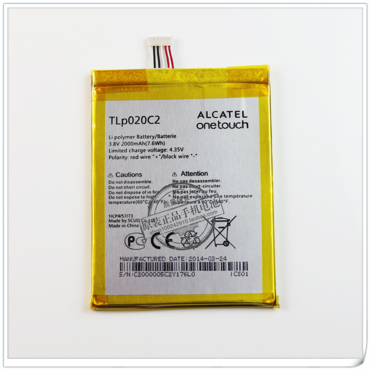 Alcatel One Touch TLP020C2 Tb2auz10