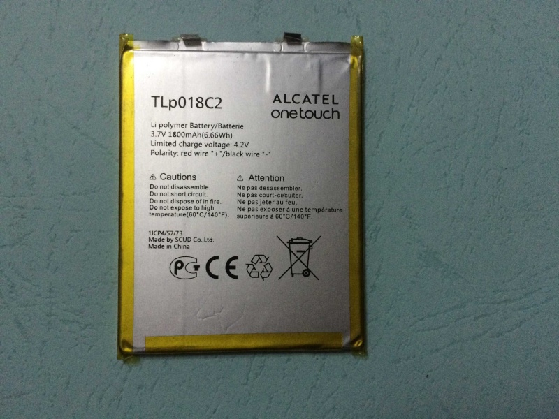 Alcatel One Touch Battery TLP018C2 Tb2f7o10